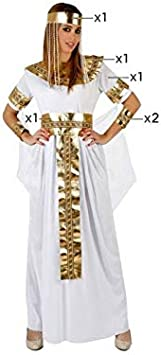 Oferta amazon: Atosa-96849 Disfraz Egipcia, color blanco, M-l (96849)