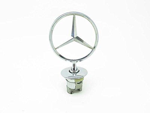 Mercedes Benz Genuine Vehicle Hood Star Emblem Badge (221-880-00-86, Chrome) (Oem Accessories Mercedes)