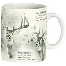Reflective Art World Record Whitetail Boxed Coffee Mug, 16-Ounce