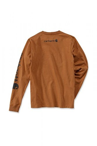 shirt Anthrazit Carhartt Logo Longsleeve T 0P8kZnOXNw