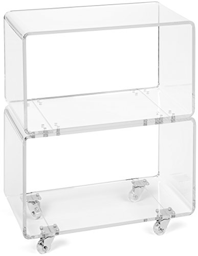 acrylic furniture uk. acrylic rolling cart in clear perfect as a bar office bookcase bedroom nightstand or livingroom display case modern design 12 furniture uk s