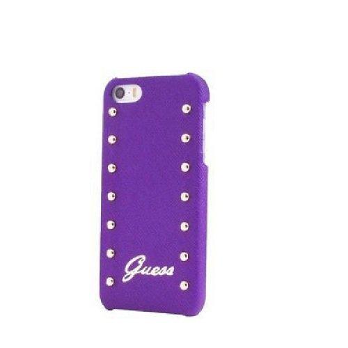 Guess clouté Collection Coque rigide pour iPhone 5/5S Violet