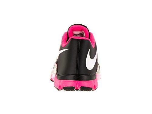 Nike Kids Flex Supreme Tr 4 (gs / Ps) Nero / Bianco / Rosa Scarpa Da Corsa In Pow 6.5 Bambini Noi