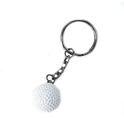 Llavero de pelota de golf de 2 cm: Amazon.es: Oficina y papelería