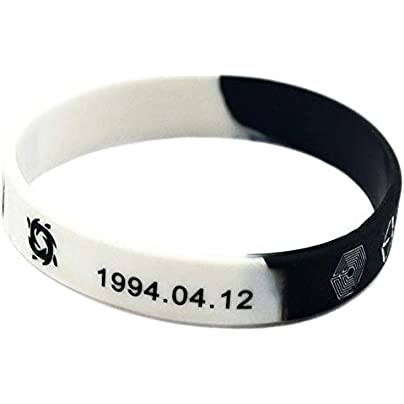 TtKj Silicone Wristbands with Sayings Symbol South Korean Vocal Group EXO Soft Silicone Bracelets for Kids Motivation Set Pieces Estimated Price -