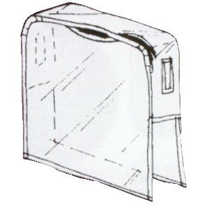 Booth Wet (Chair-back Cover Round With No Opening)