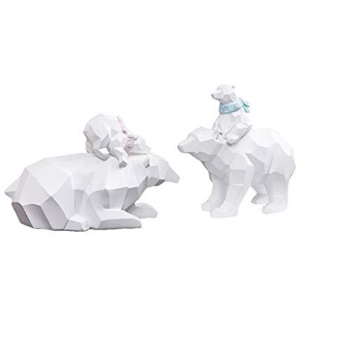 polar bear resin charm - 7