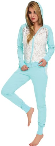 Italian Fashion IF Pantalones de Deporte para Mujer Chic Pistacho