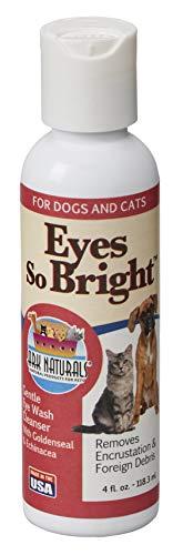 Ark Naturals Eyes So Bright Gentle Eye Wash for Dogs, Remove Debris and Encrustations, Natural Botanicals, 4 oz Bottle -