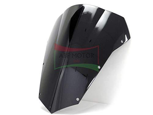 Yamaha Fz6 Windscreen - Protek ABS Plastic Injection Black Smoke Double Bubble Transparent Windscreen Windshield for 2004 2005 2006 2007 2008 2009 2010 Yamaha FZ6 Fazer