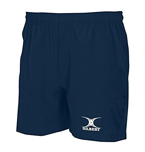 GILBERT Damen Freizeit leichtem Stretch-Stoff Rugby Sport Training Shorts