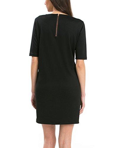 Mujer Desigual Negro Vestido Desigual Vestido 2000 Mujer Negro xHSqXxz