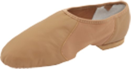 Bloch Women's Neo Flex Slip On Jazz Shoe,Tan,8 M US