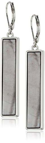 t-tahari-silver-shell-rectangle-drop-earrings