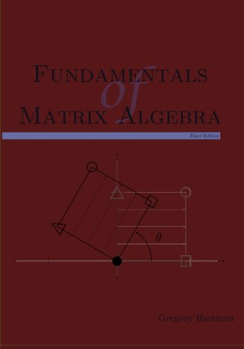 Fundamentals of Matrix Algebra, Third Edition