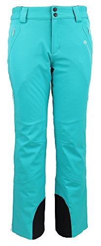 Women's Performance Insulated Cargo Ski Pants,Teal,M