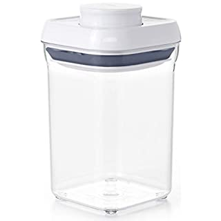 OXO 1071401 0.9 quart Square Pop Container.9 Qt-Brown Sugar