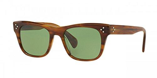 Oliver Peoples Jack Huston VFX Lenses OV5302 1011P1 (Raintree + Jade - Sunglasses Peoples Oliver Wayfarer