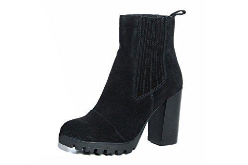 Gusto - 9690_ANITA_CROSTA_NERO - Schuhe Stiefel Schwarz