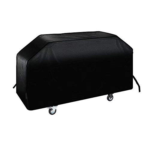 iCOVER 36 inch Griddle Cover-600D Water Proof Canvas Heavy Duty Flat Top Griddle Cover Blackstone 36 in Outdoor Cooking Gas Grill Griddle Station G21621 Incl Support Pole to Help The Water Run Off by iCOVER