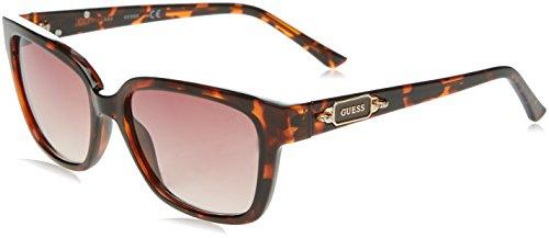 de Mujer Sol Marrón GUESS GF6014 para Gafas 55 Havana ExqvUAg