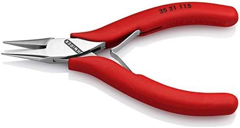 KNIPEX 35 21 115 Pince de pr/éhension pour l/électronique gain/ées en plastique 115 mm