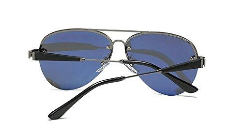 Lennon de style Cadre vintage métallique polarisées en inspirées de lunettes du retro cercle rond soleil Pistolet AawF6nXqx8