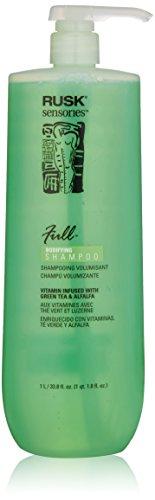 RUSK Sensories Full Green Tea and Alfalfa Bodifying Shampoo, 33.8 fl. oz. (Cleaning Hair Shampoo Deep)