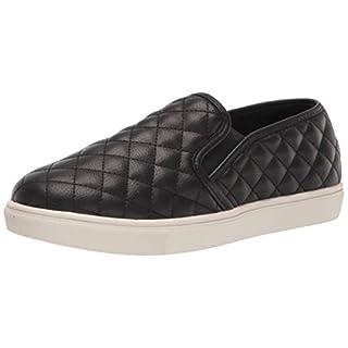 Steve Madden Women's Ecentrcq Slip-On Fashion Sneaker,Black,8 M US
