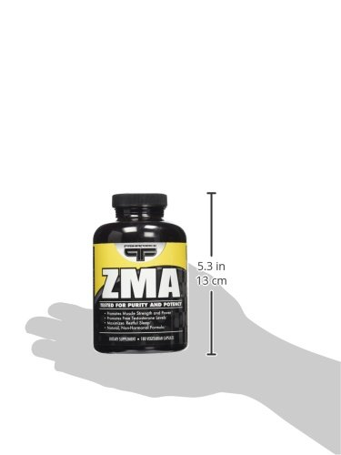 PrimaForce ZMA Supplement – Increases Muscular Strength and Power / Increases Free Testosterone Levels – 180 Count