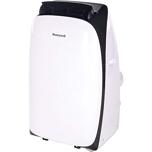 (Honeywell 14000 Btu Portable Air Conditioner, Dehumidifier & Fan for Rooms Up to 550-700 Sq. Ft with Remote Control, HL14CESWK, White & Black)