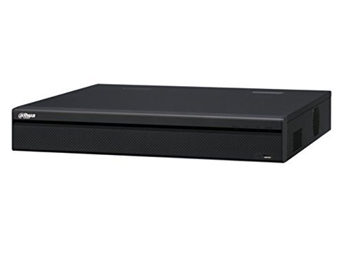 For Dahua 12MP NVR NVR5416-16P-4KS2 16 Channel 1.5U 16PoE 4K and H.265 Pro Network Video Recorder Up to 8TB( NO HDD) English Version Support Upgrade - U Video Upgrade
