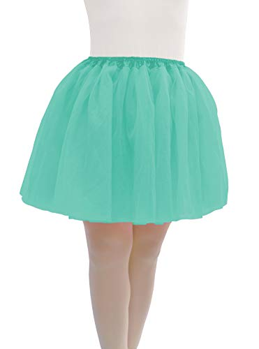 Dancina Carrie Bradshaw SATC Tutu Plus Size 12-24 Mint]()