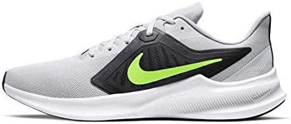 Nike Downshifter 10, Zapatillas para Correr para Hombre, Grey Fog/Volt-Black-White, 42.5 EU: Amazon.es: Zapatos y complementos