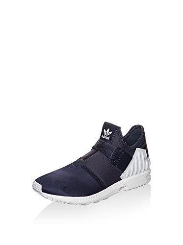 Adidas Zx Flux Pluss Menns Joggesko Blå Hvit-marineblå Blå