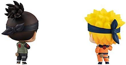 Megahouse Chimimega Buddy Naruto Umino Iruka /& Uzumaki Naruto