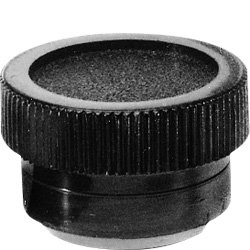 DimcoGray Black Thermoplastic Knurled Clamping Knob Female, Brass Insert: 10-32 Thread x 5/16'' Depth, 3/4'' Diameter x 15/32'' Height x 5/8'' Hub Dia x 7/32 Hub Length (Pack of 10) by DimcoGray