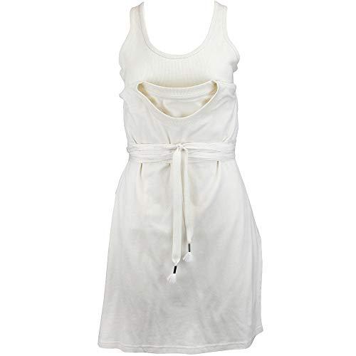 PUMA Womens Fenty by Rihanna Jersey Tee with Tank Casual T-Shirt White M