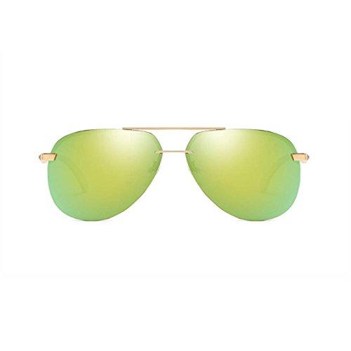 soleil Protection de Lunettes extérieure cadre polarisées conduite UV400 en alliage Lunettes 5 Lunettes Femmes Coolsir Hommes xv6UIv
