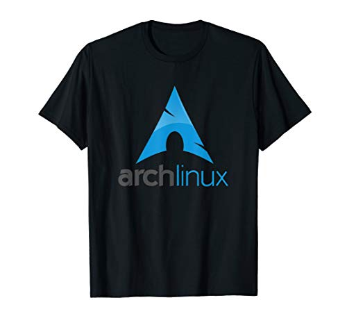 - Arch Linux lover T-Shirt tagline and Logo Open Source Os tee
