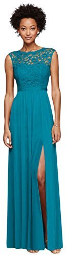 oasis color bridesmaid dresses - 1