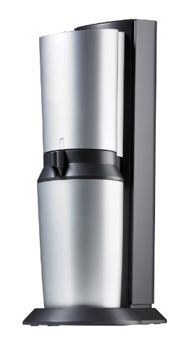 SodaStream Wassersprudler Crystal (mit 1 x CO2-Zylinder 60L und 1 x 0,6L Glaskaraffe)