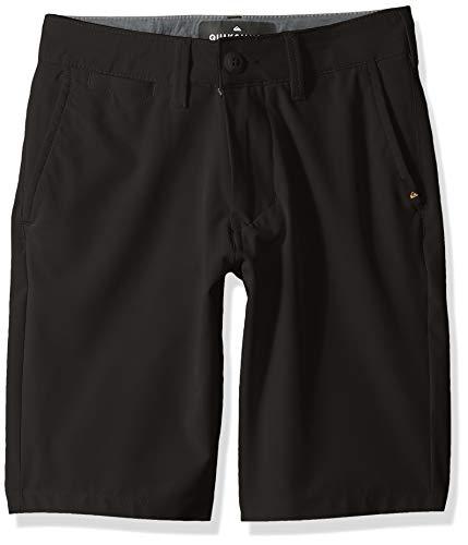 Quiksilver Boys' Big Union Amphibian Youth 19 Hybrid Short, Black 22/8S