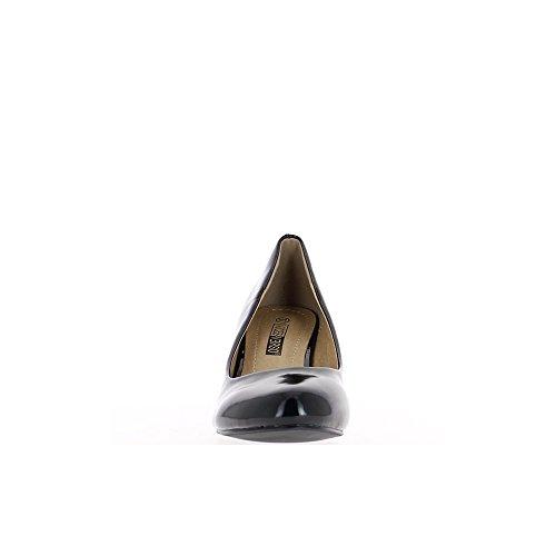 Escarpins classiques vernis à talons de 7cm noirs