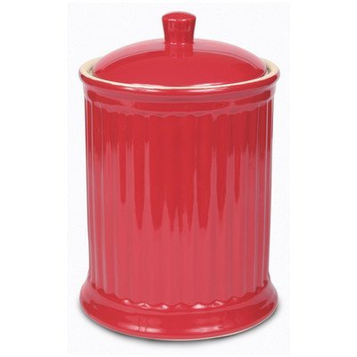 Omni Simsbury Extra Large Canister/Cookie Jar - (Red Cookie Jar)
