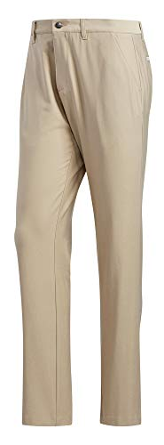 adidas Golf Ultimate Classic Pant, Raw Gold, 3530 ()