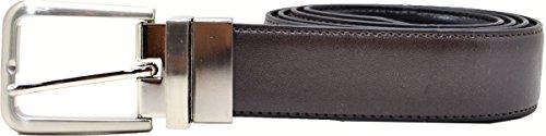 Club Room Mens Black/ Brown Reversible Belt 40 - Room Club Belt Reversible