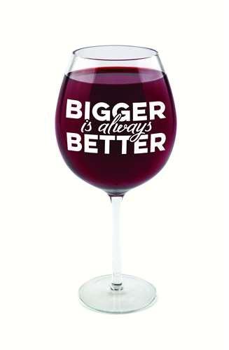 BigMouth Inc Gigantic Wine Glass