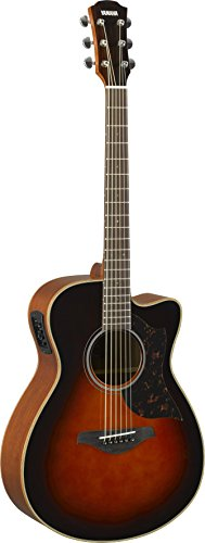 Yamaha A-Series AC1M Acoustic-Electric Guitar, Tobacco (Ash Acoustic Electric Guitar)
