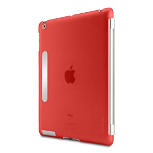 Belkin Snap Shield Case Secure for the Apple iPad 3 (3rd Generation) (Red) by Belkin Components